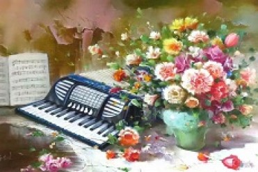 69岁的赵崇礼爱上手风琴 让退休生活变得美妙多彩