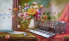 《我与花》歌词