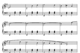 英国民歌《斯卡布罗集市》手风琴版曲谱下载