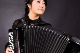 中国青年巴扬手风琴演奏家——赵博