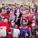 北京手风琴琴友之家在北京玉渊潭公园举行庆祝建国70周年活动