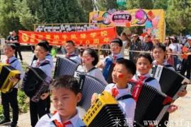 """银川霍纳手风琴学校""""我和我的祖国""""创意快闪活动惊艳银川"""