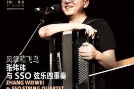 民谣配上手风琴-独立音乐人张玮玮  风筝和飞鸟  张玮玮和SSO弦乐四重奏